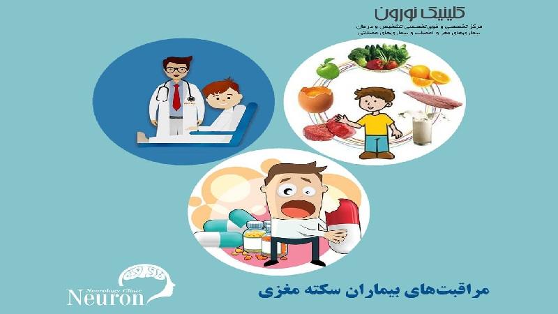 متخصص مغز و اعصاب اصفهان مراقبت های بیماران سکته مغزی